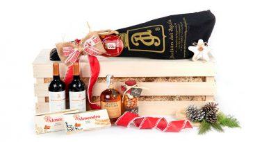 origen de la tradición de las cestas de Navidad
