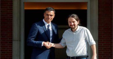 Sanchez e Iglesias llegan a acuerdos para fortalecer la democracia en España