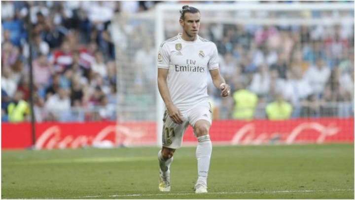 Bale en prácticas se ve más tranquilo