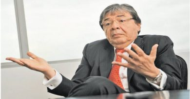 El canciller colombiano, Carlos Holmes Trujillo