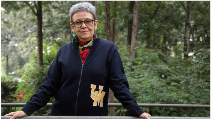 Angélica Cuéllar, candidata a la rectoría de la universidad
