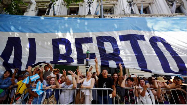 Día de fiesta en Argentina por vuelta peronista.