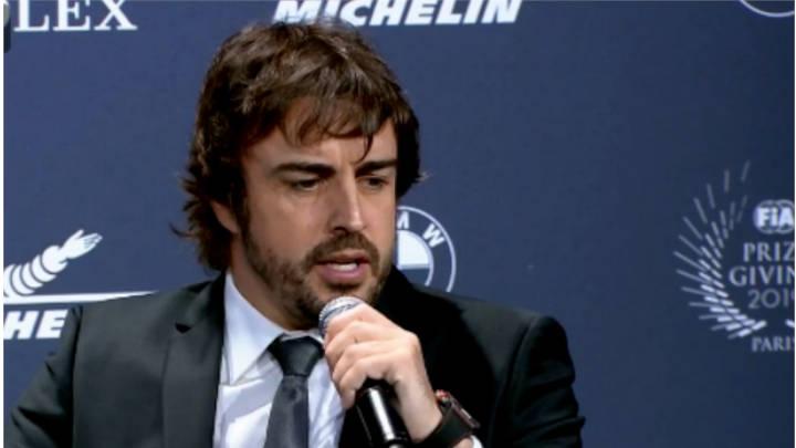 Molestia de Alonso va  directa a Ferrari