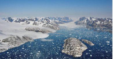 Groenlandia ha perdido 3,8 billones de toneladas de hielo desde 1992