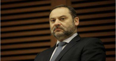 Jose Luis Ábalos ministro de transporte español