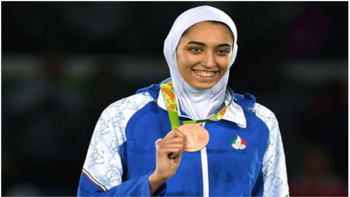 Kimia Alizadeh, la medallista olímpica, huye de Irán