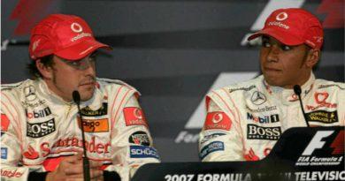 Alonso y Hamilton en 2007, Fórmula 1.