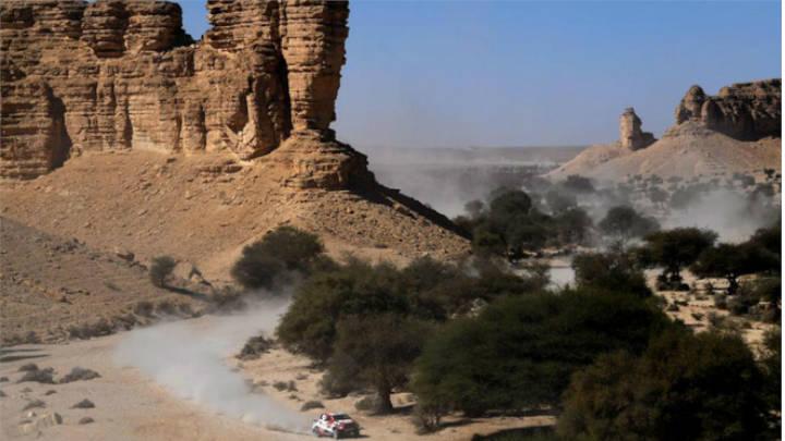 Las dunas decidieron el triunfo de los corredores