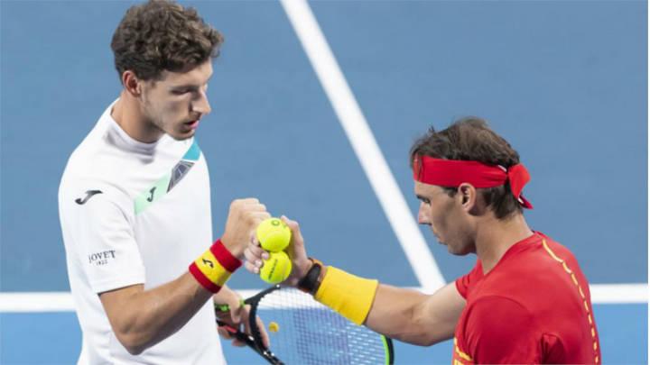 El dúo español logró vencer al equipo de Gille y Vlieguen