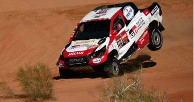 El avance de Fernando Alonso en el Dakar 2020