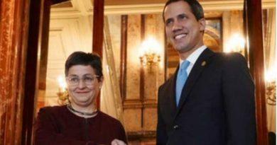 El gobierno ofrece total respaldo a la visita de Guaidó