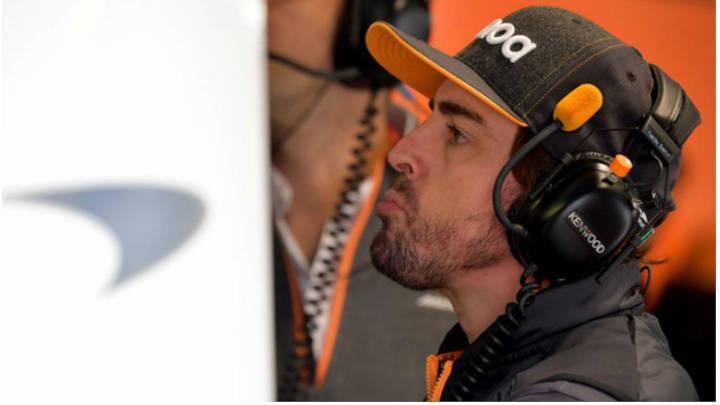 Fernando Alonso libre de McLaren