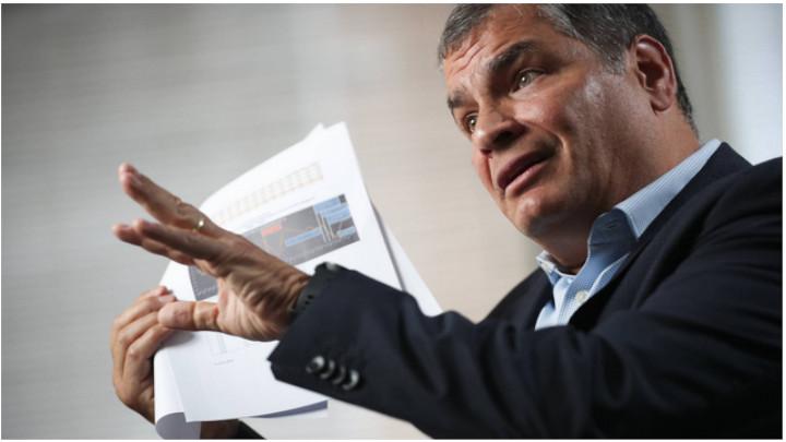 Correa enfrentará el primer juicio por corrupción.