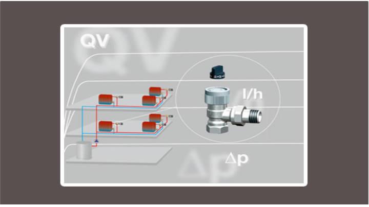 Equilibrado calefacción monotubo