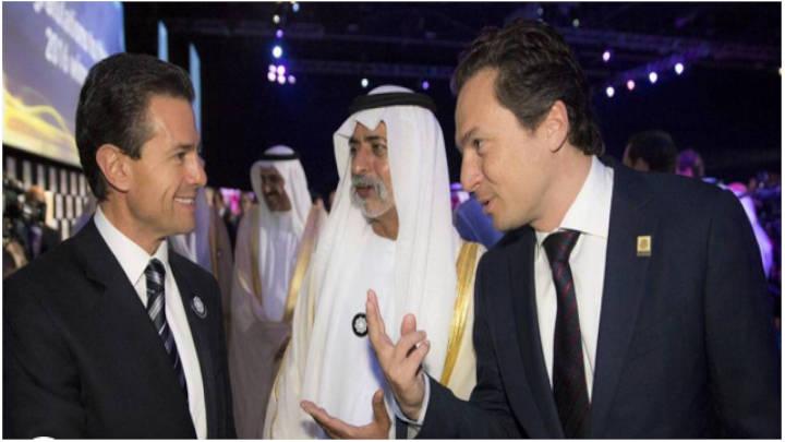 Peña Nieto y Lozoya en la Cumbre Mundial de Energía del Futuro.