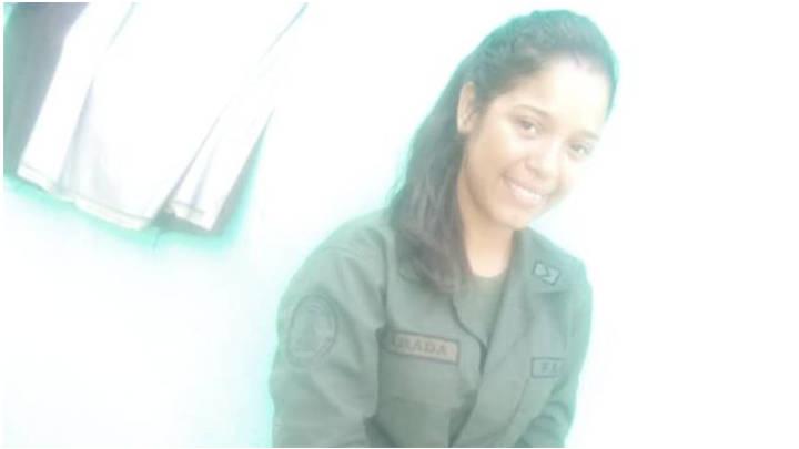 Mariola Parada, sargento primero muerta el 2 de febrero