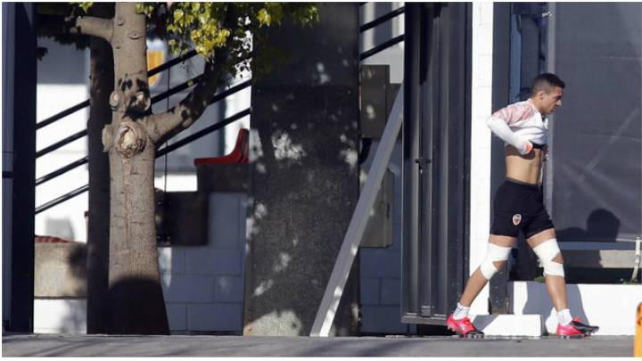 Rodrigo Moreno preocupa al club