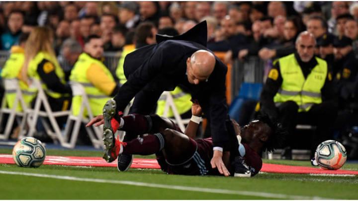 A Zidane no le funciona el 4-3-3