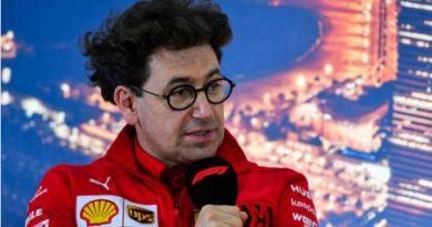 Binotto en una entrevista de las pruebas de Barcelona