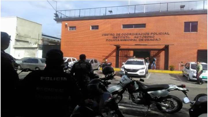 Centro de investigación policial de Chacao