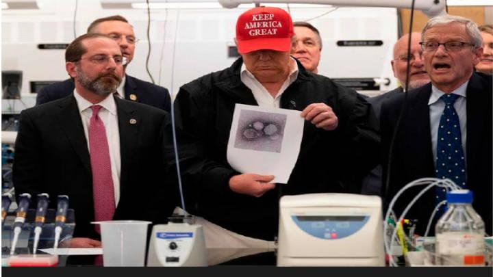 Trump nunca imaginó que su país llegará a este punto