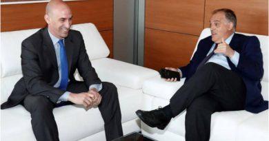 El Presidente de la Real Federación del Futbol español