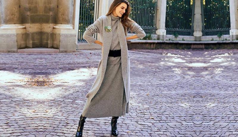 Una colección de punto: Looks para andar con estilo y muy cómoda