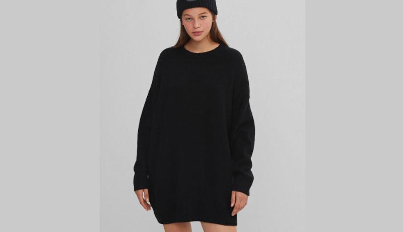 Jersey talla grande en color negro
