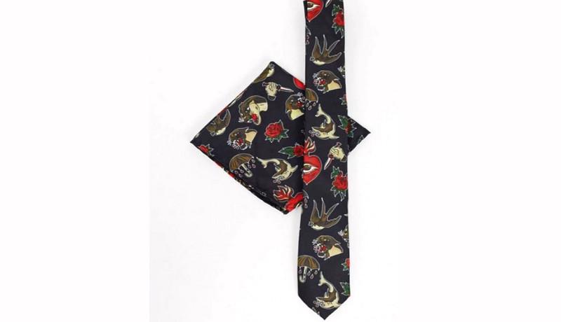 Corbata muy original