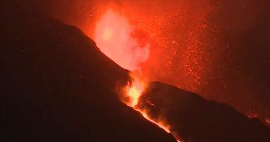 El Volcán de la Palma intensifica su actividad