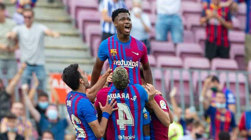 Ansu Fati la nueva esperanza del Barça