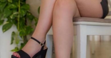 Sandalias negras con tacon mujer