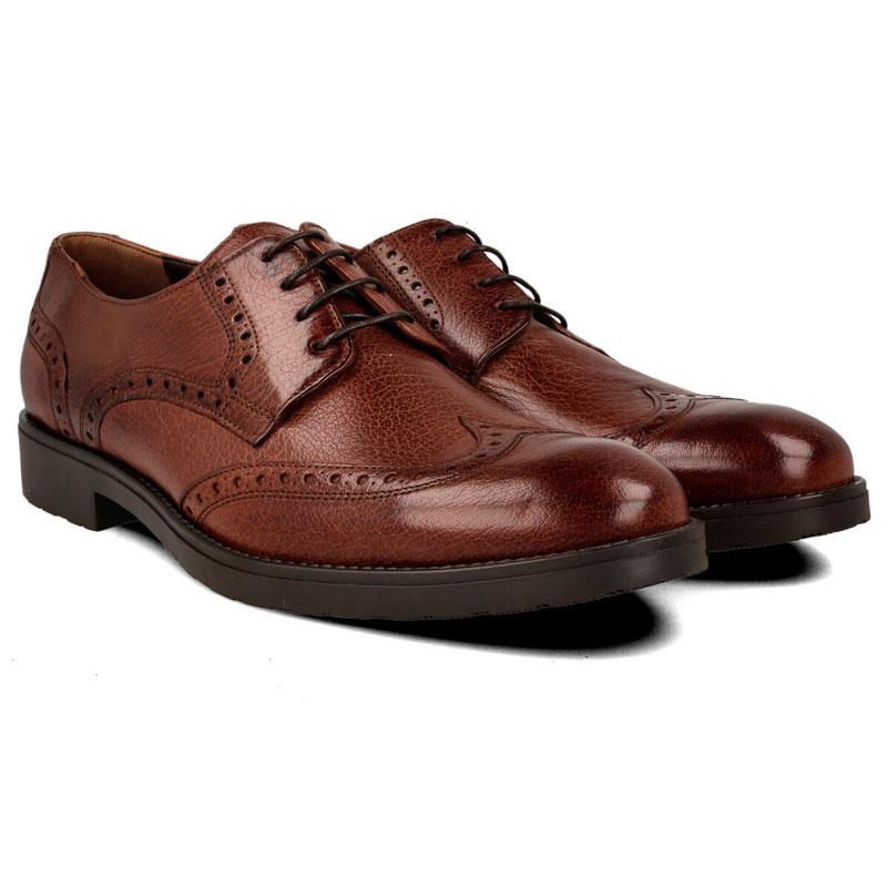 zapatos de vestir marrones para hombre