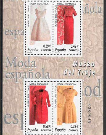 La moda vista a través de los sellos de España